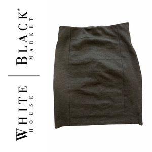 3/60 Deal White House black market grey mini skirt